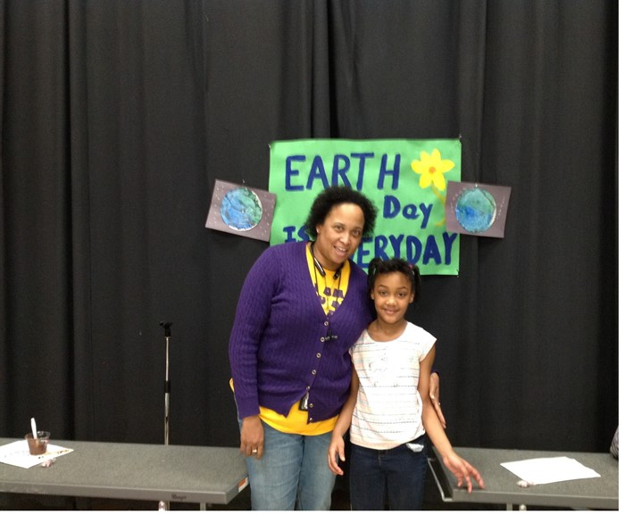 Mentoring on Earth Day